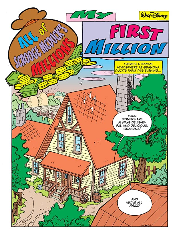 click for super-sized previews of All of Scrooge McDuck's Millions #1: My First Million