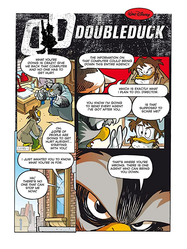 click for super-sized previews of DoubleDuck #1