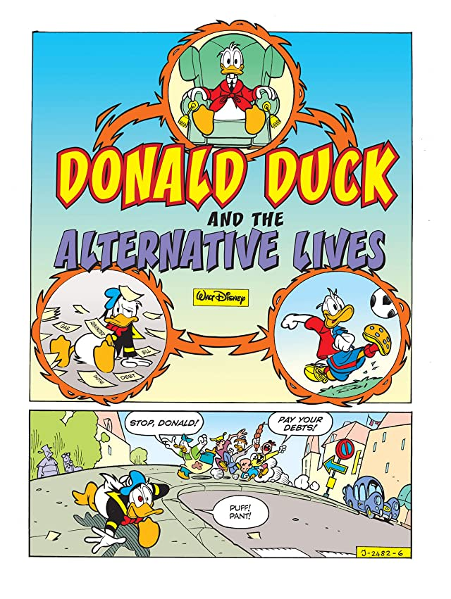 click for super-sized previews of Donald Duck and the Alternate Lives