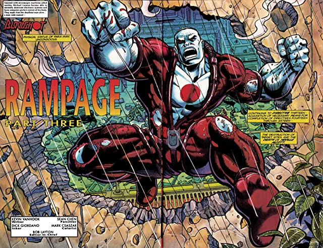 click for super-sized previews of Bloodshot (1993-1996) #28