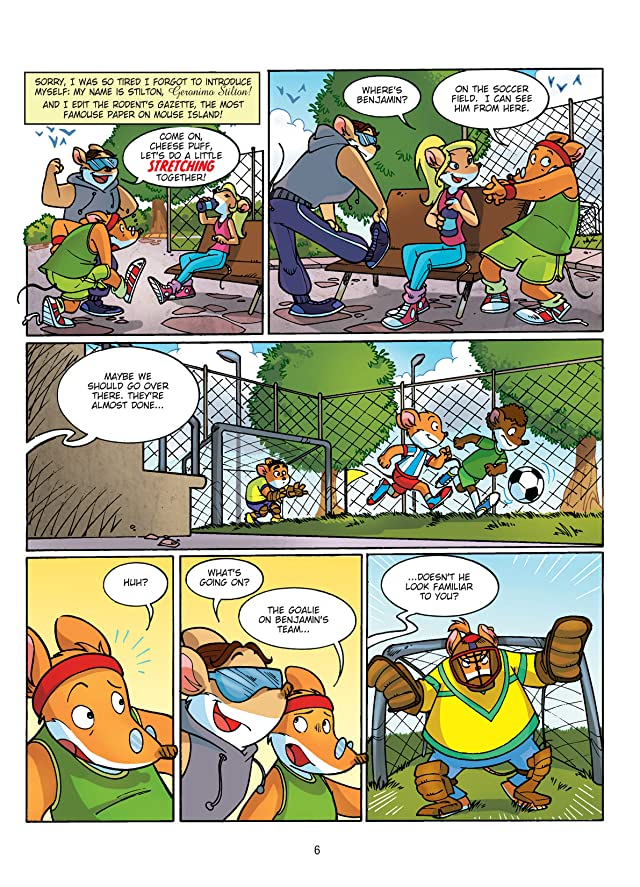 Geronimo Stilton Vol. 10: Geronimo Stilton Saves the Olympics Preview