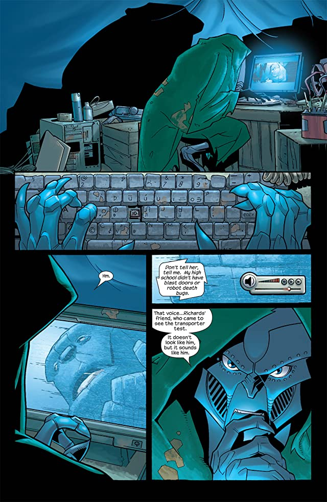 click for super-sized previews of Ultimate Fantastic Four #11