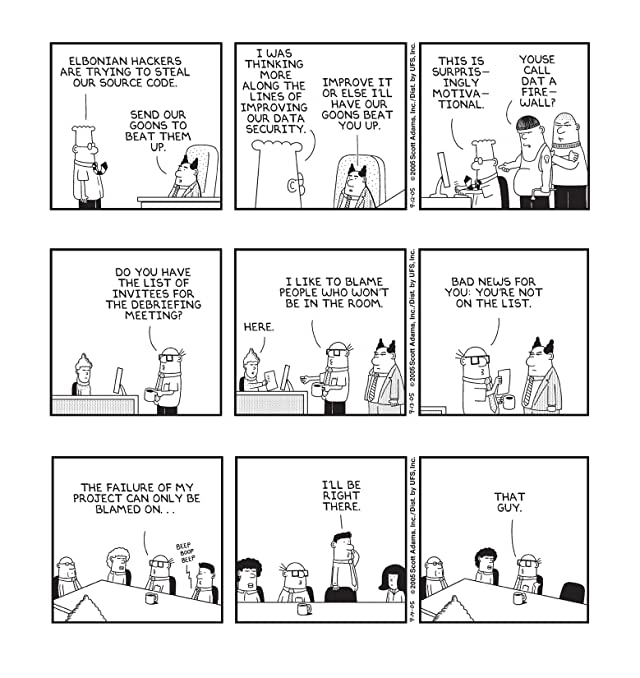 click for super-sized previews of Dilbert Vol. 28: Try Rebooting Yourself