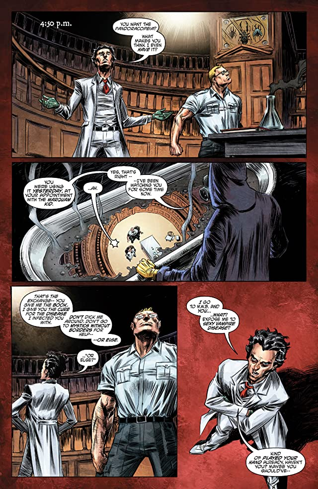 click for super-sized previews of Witch Doctor: Mal Practice #2