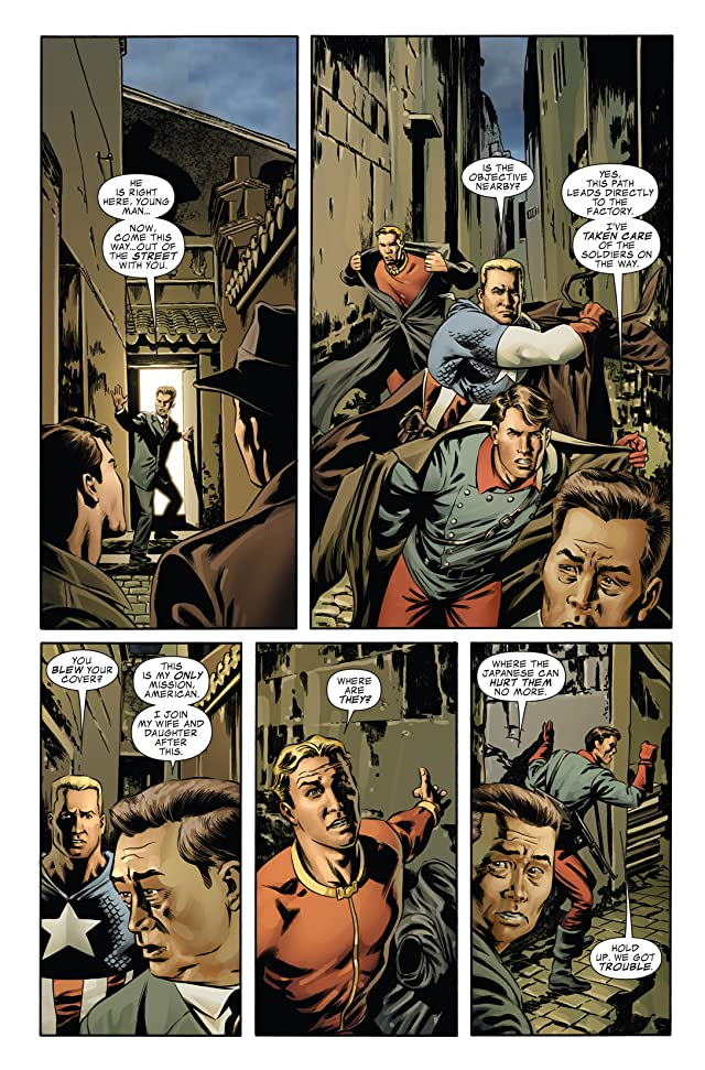 click for super-sized previews of Captain America (2004-2011) #43