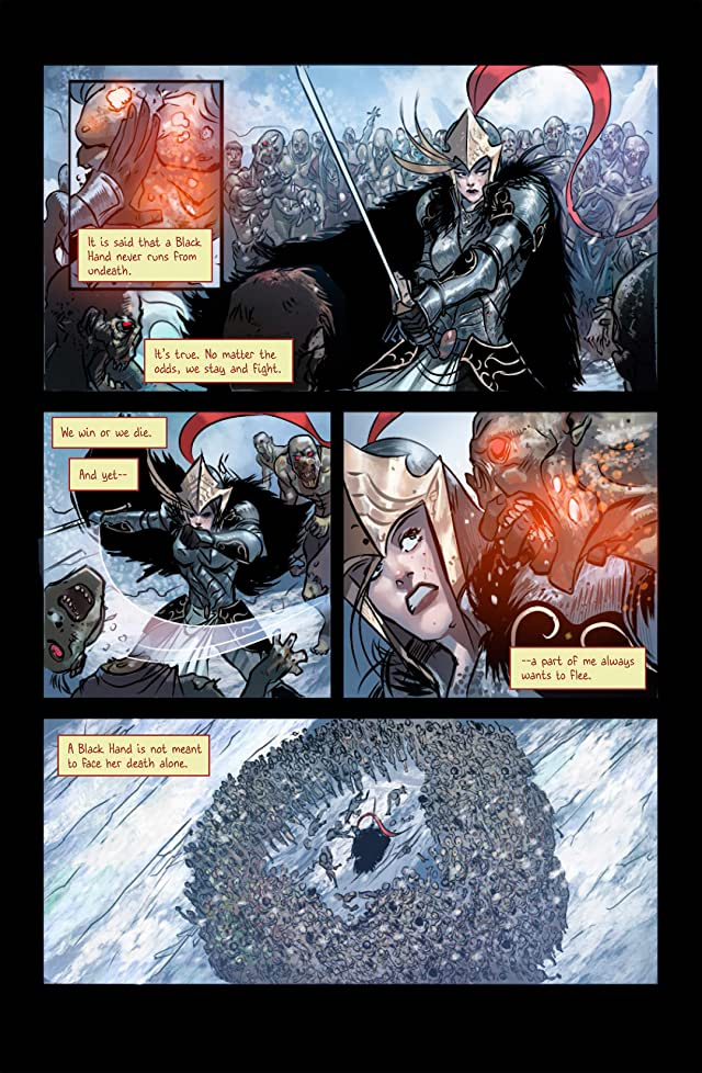 click for super-sized previews of The Black Hand #1: Preview