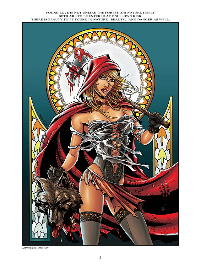 click for super-sized previews of Grimm Fairy Tales: Art Book