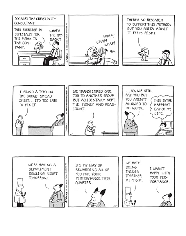 click for super-sized previews of Dilbert Vol. 36: Your Accomplishments Are Suspiciously Hard to Verify