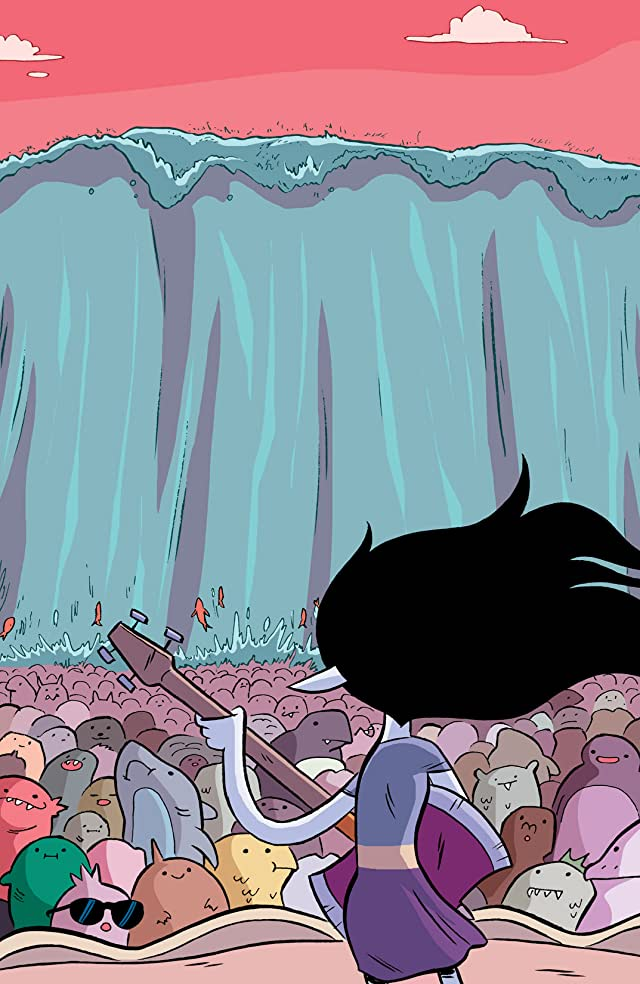 click for super-sized previews of Adventure Time: Marceline and the Scream Queens #4
