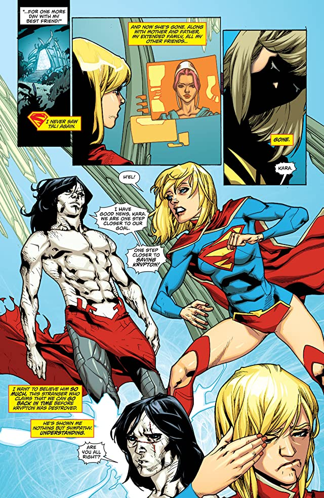 click for super-sized previews of Supergirl (2011-2015) #15