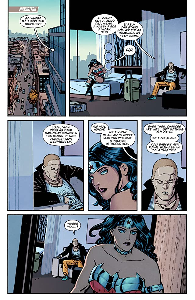 click for super-sized previews of Wonder Woman (2011-) #15