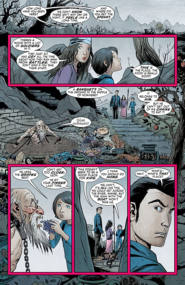 click for super-sized previews of The Unwritten #44