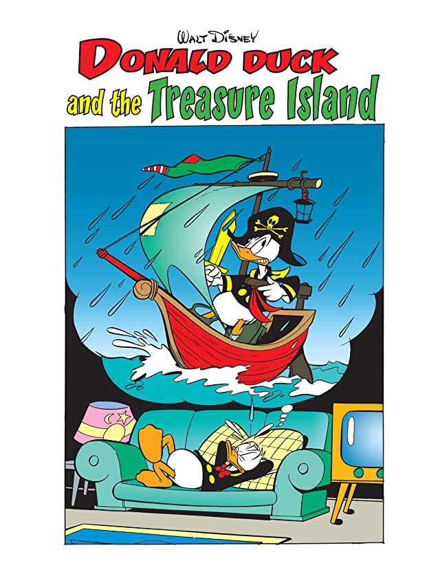 Donald Duck and the Treasure Island #1
