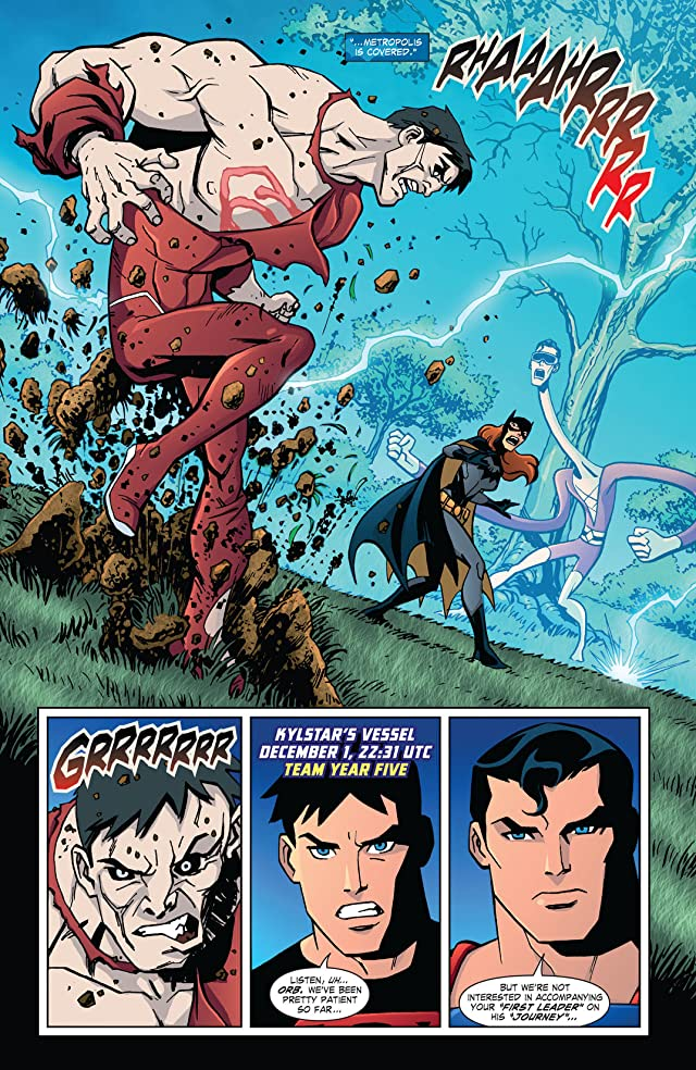 click for super-sized previews of Young Justice (2011-2013) #23