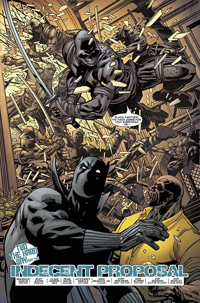 click for super-sized previews of Black Panther (2005-2008) #11