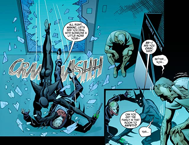 click for super-sized previews of Batman Beyond (2012-2013) #16