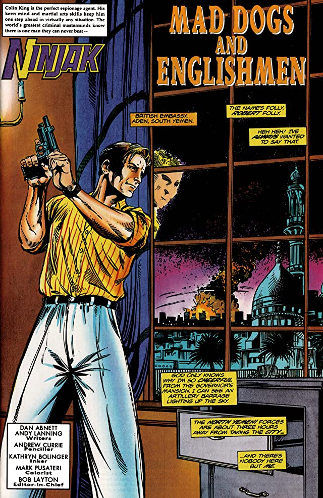 Ninjak (1994-1995) #13