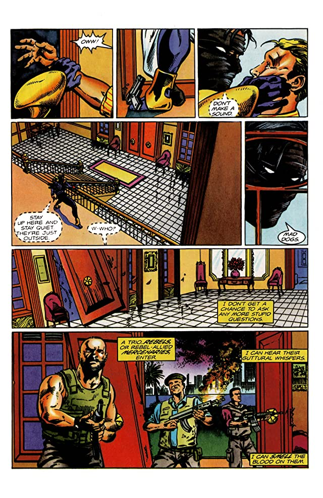 click for super-sized previews of Ninjak (1994-1995) #13