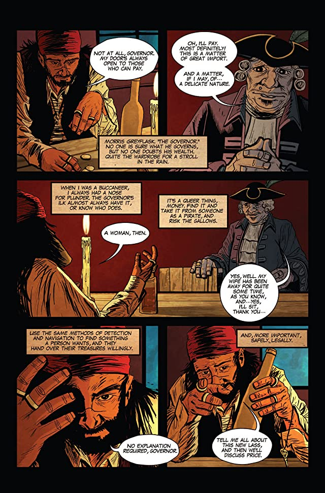 Pirate Eye: Mark Of The Black Widow