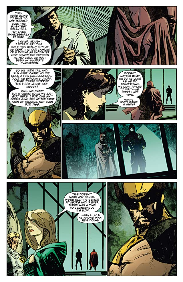 click for super-sized previews of X-Men: Prelude to Schism #1