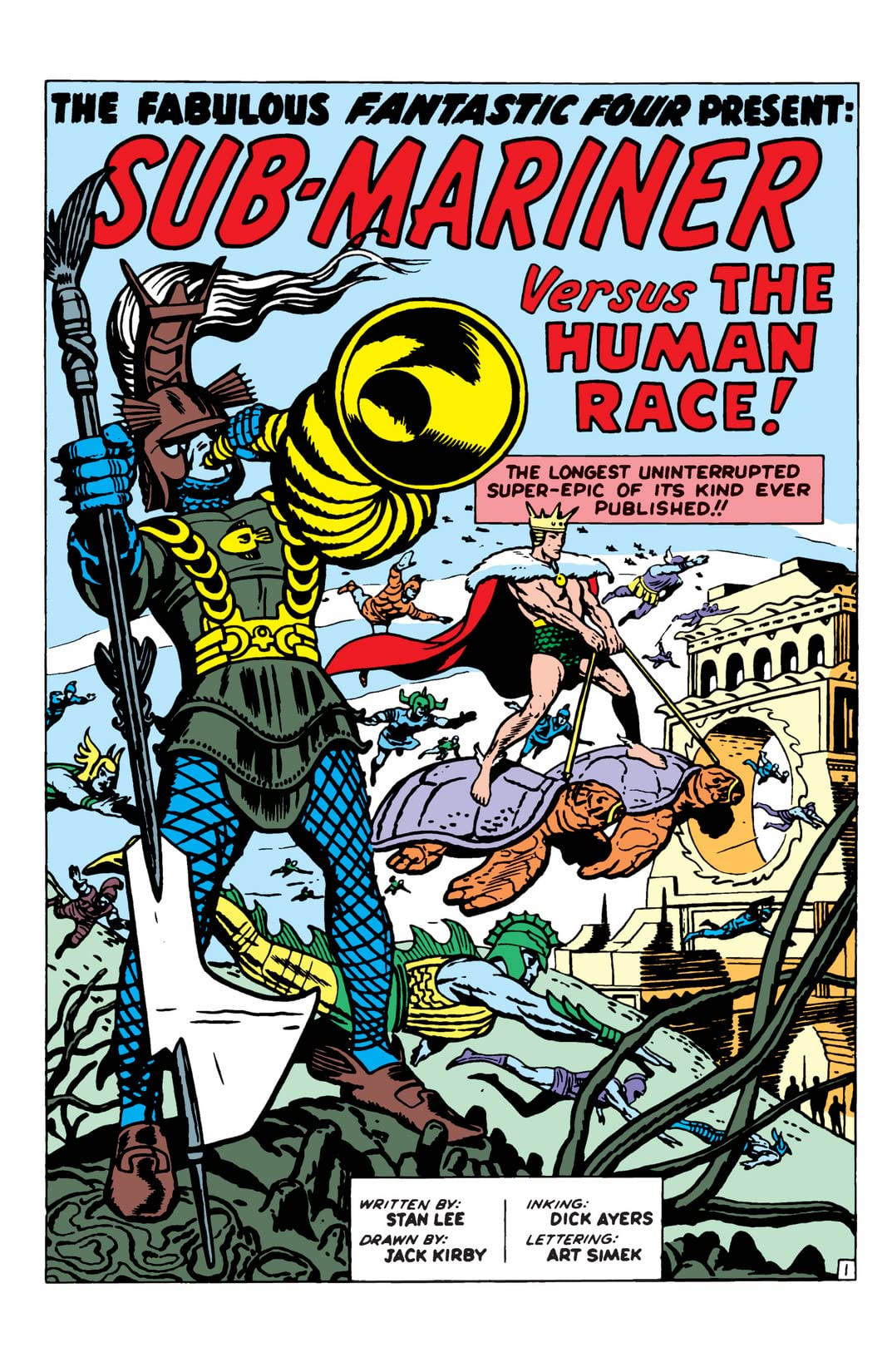 Fantastic Four (1961-1998) Annual #1