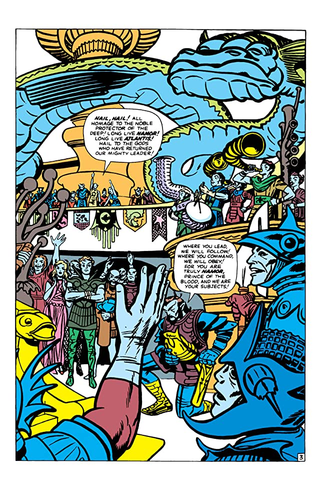 click for super-sized previews of Fantastic Four (1961-1998) Annual #1