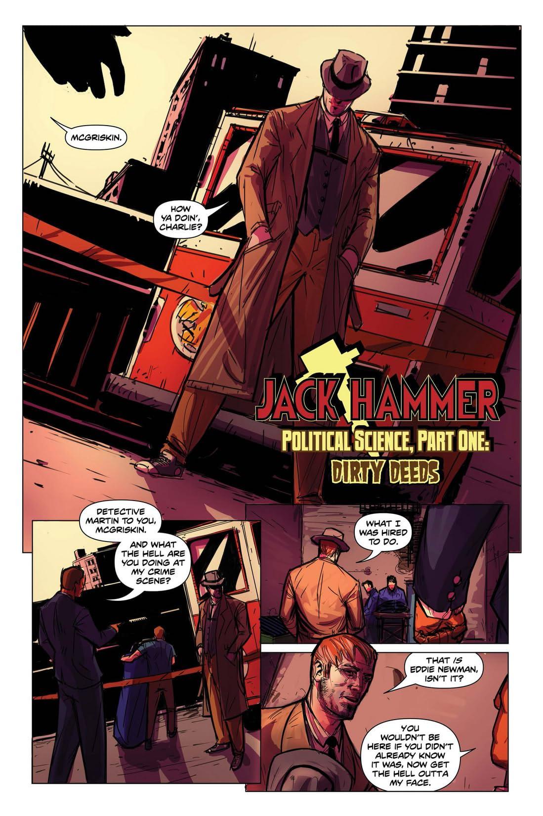 Jack Hammer: Political Science