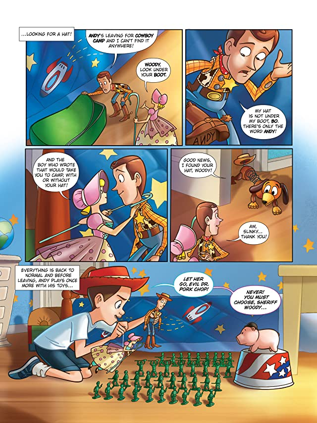 click for super-sized previews of Toy Story 2