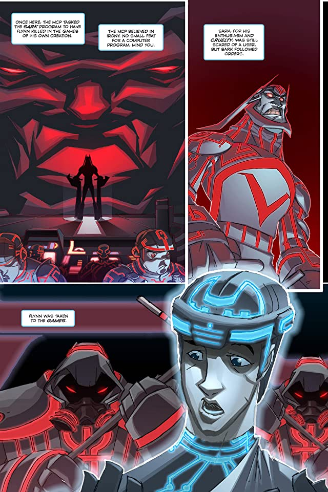 click for super-sized previews of Tron: Betrayal