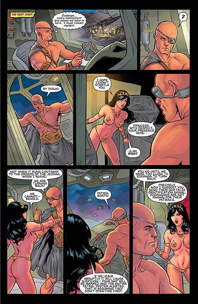 click for super-sized previews of Warlord of Mars: Dejah Thoris #20