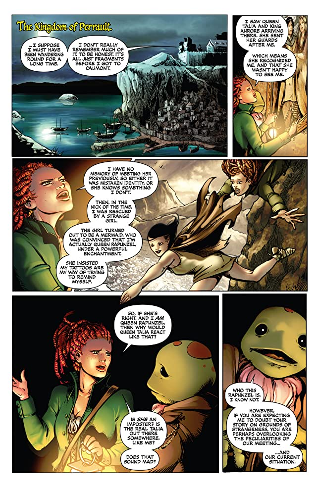 click for super-sized previews of Damsels #4