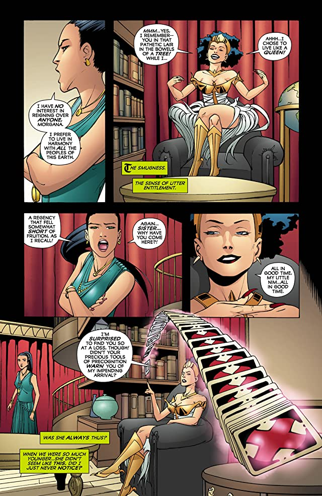 click for super-sized previews of Madame Xanadu (2008-2011) #18