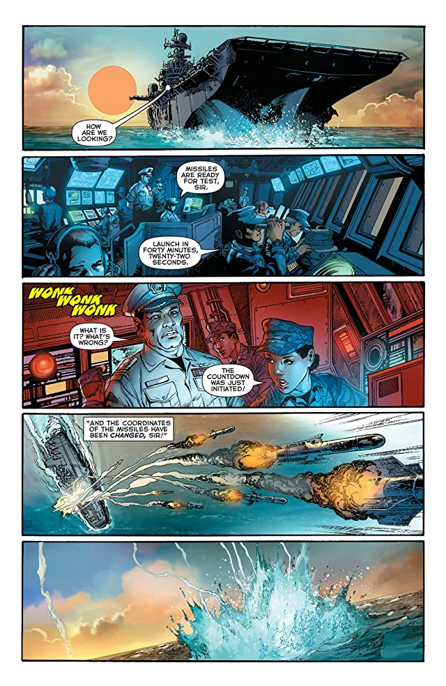 click for super-sized previews of Justice League (2011-) #15