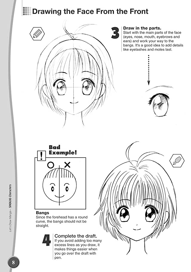 click for super-sized previews of Let's Draw Manga: Shoujou Characters