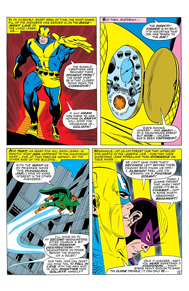 click for super-sized previews of Avengers (1963-1996) #35