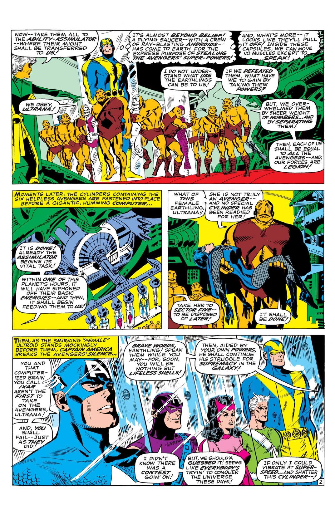 Avengers (1963-1996) #37