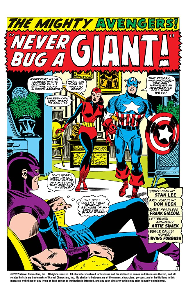 click for super-sized previews of Avengers (1963-1996) #31