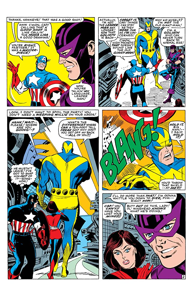 click for super-sized previews of Avengers (1963-1996) #32