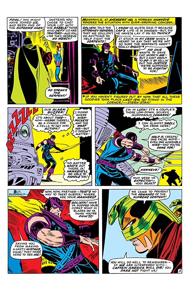 click for super-sized previews of Avengers (1963-1996) #33
