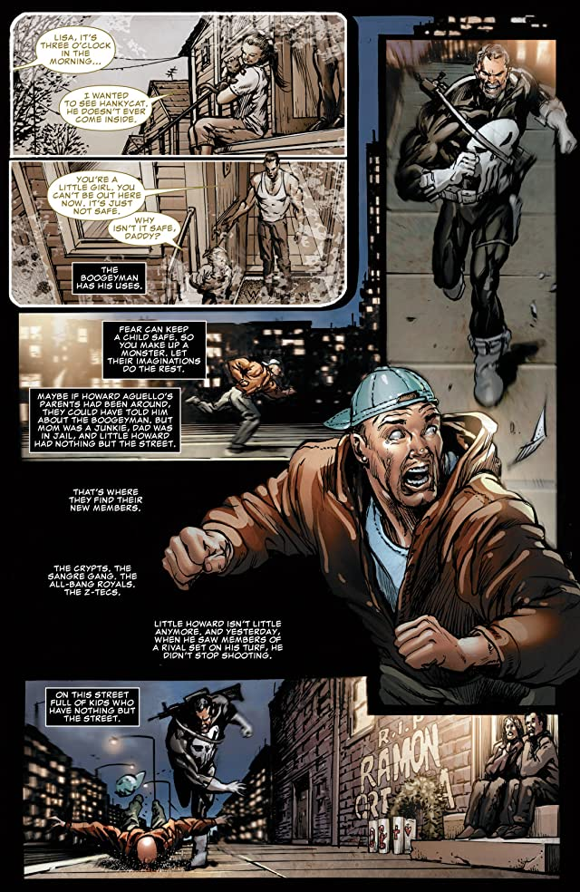 click for super-sized previews of Punisher: Nightmare #1