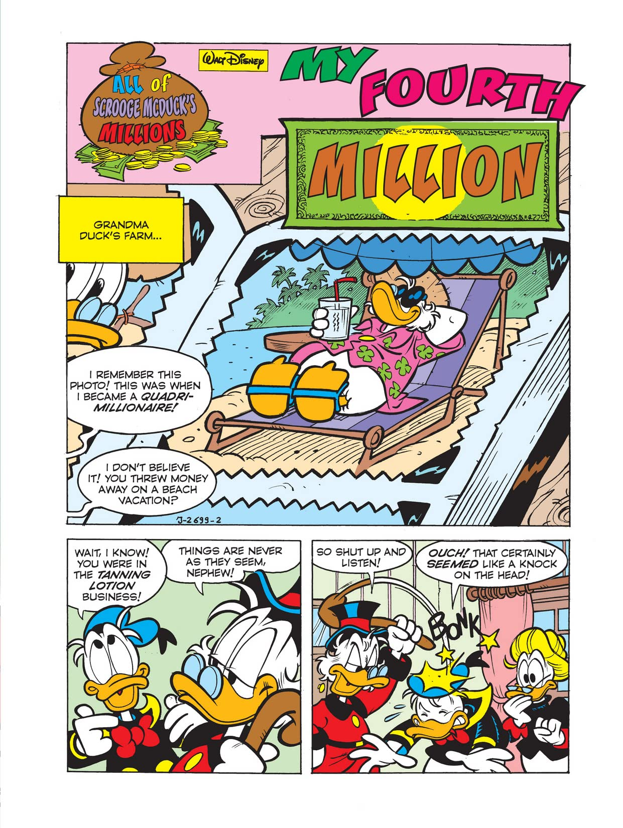 All of Scrooge McDuck's Millions #4: My Fourth Million