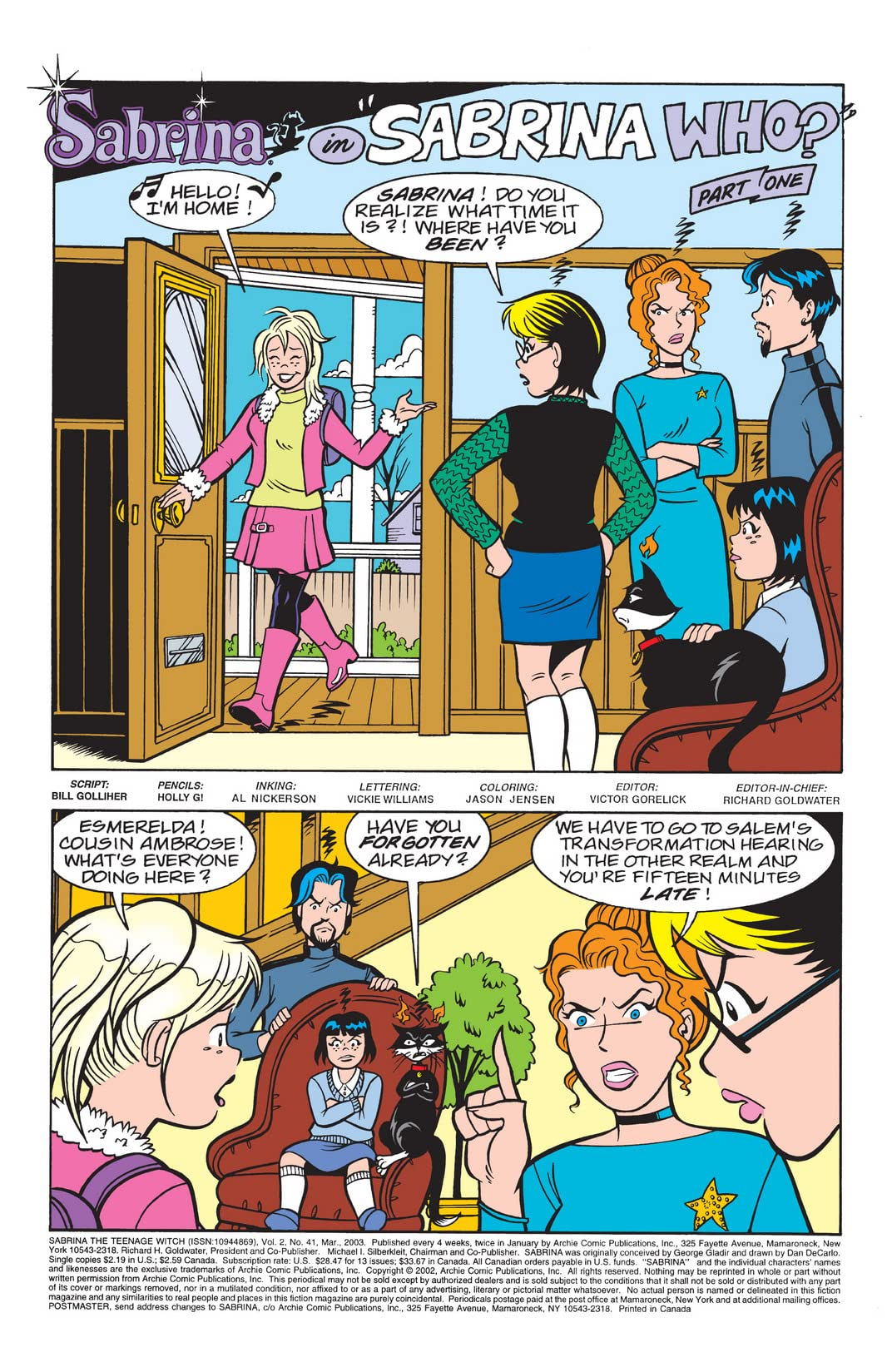 Sabrina the Teenage Witch #41
