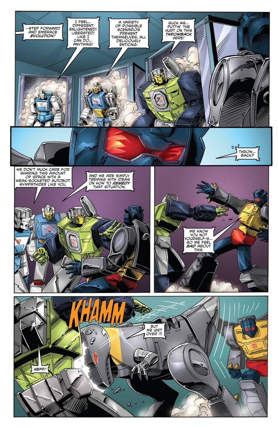 Transformers: Regeneration One #87
