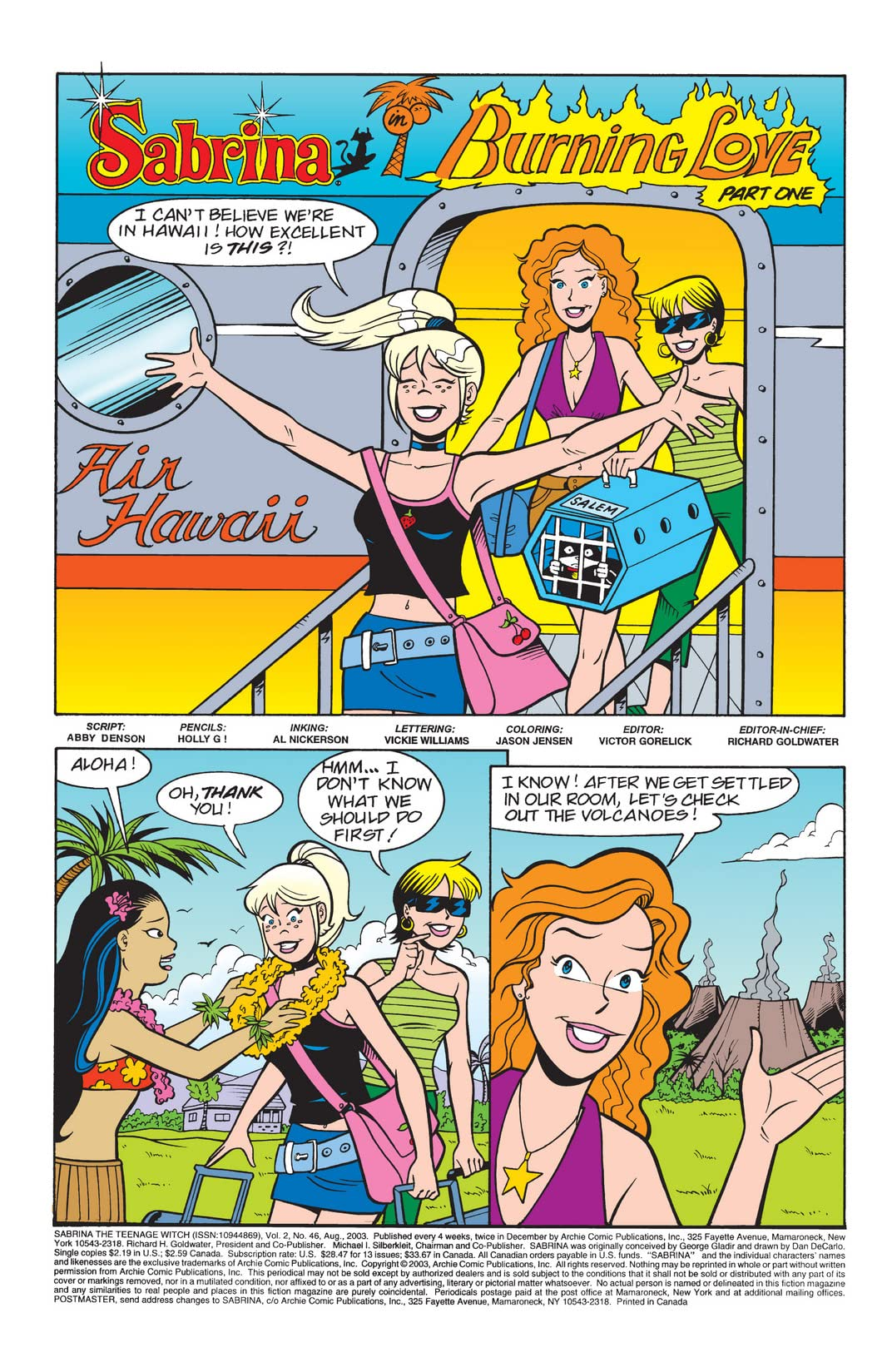 Sabrina the Teenage Witch #46