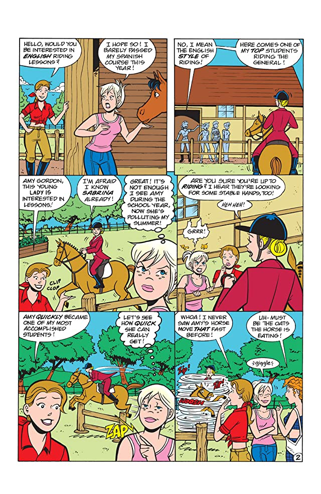 click for super-sized previews of Sabrina the Teenage Witch #47