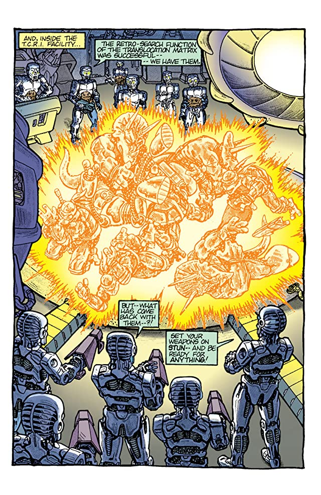 click for super-sized previews of Teenage Mutant Ninja Turtles: Color Classics #7