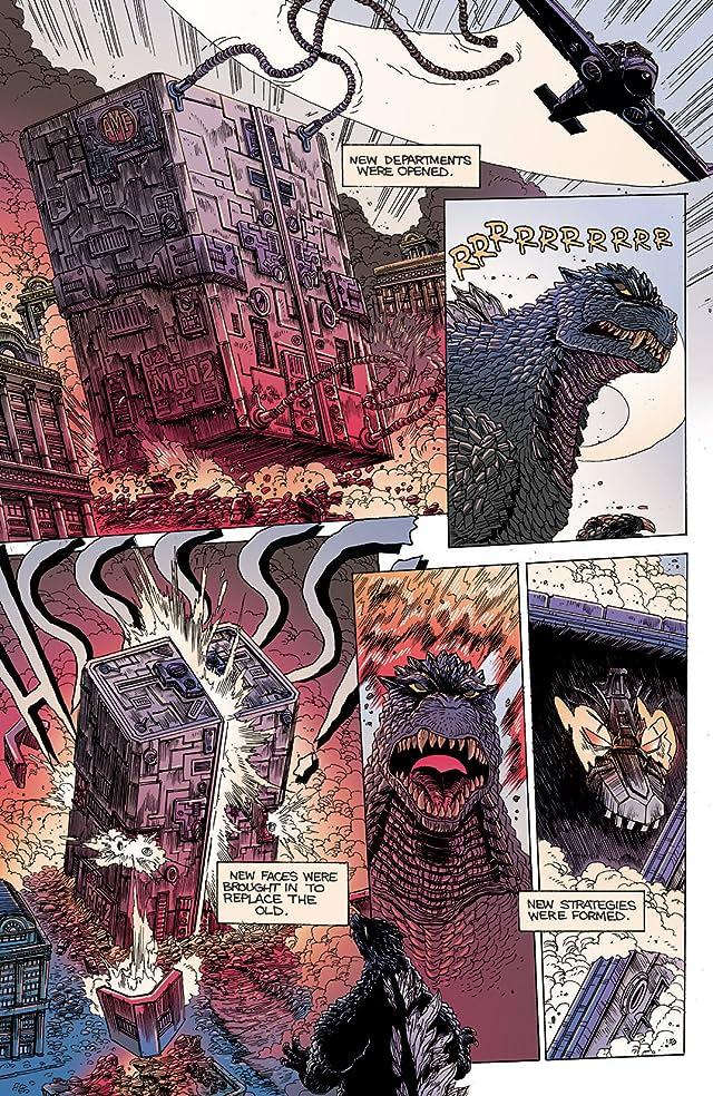 Godzilla Half Century War #4 (of 5)