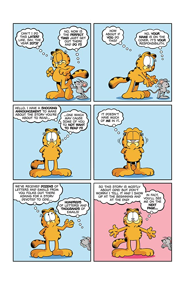 click for super-sized previews of Garfield #9
