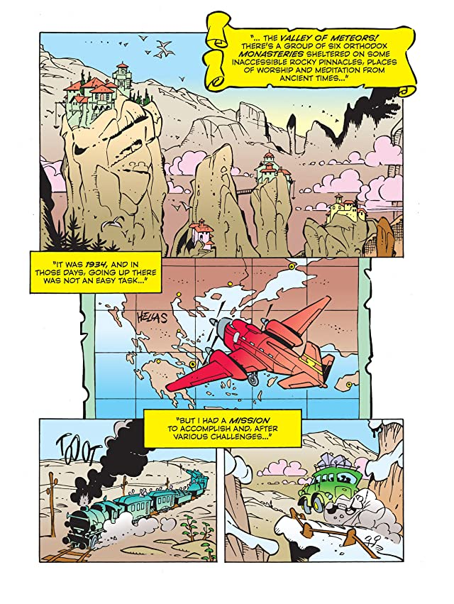 click for super-sized previews of Mick de' Mouse's Stories #3: Mickey Mouse and the Secret of the Seventh Meteor