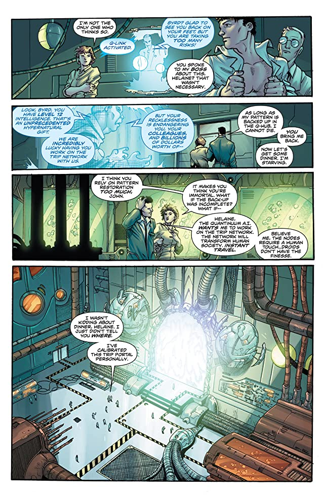 click for super-sized previews of The Hypernaturals #7